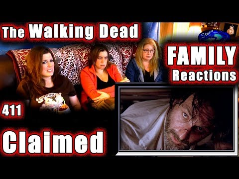 The Walking Dead | FAMILY Reactions | CLAIMED | 411