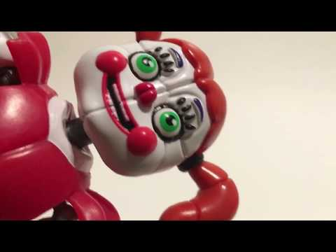 "FNAF Circus Baby 5"" Action Figure Review Five Nights At Freddy Sister Location"