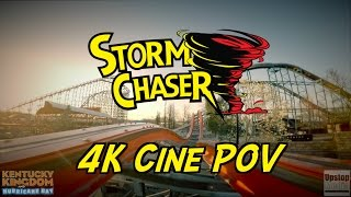 storm chaser official pov as seen in commercial advertising rmc 4k cine pov kentucky kingdom