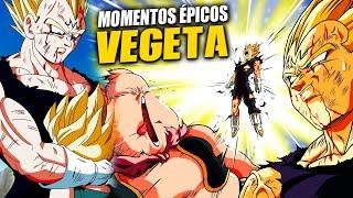 8 Momentos ÉPICOS de VEGETA en Dragon Ball