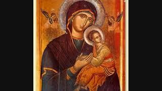 Манастир Рождество на Пресвета Богородица, Kalishta -  Pesna na Presveta Bogorodica