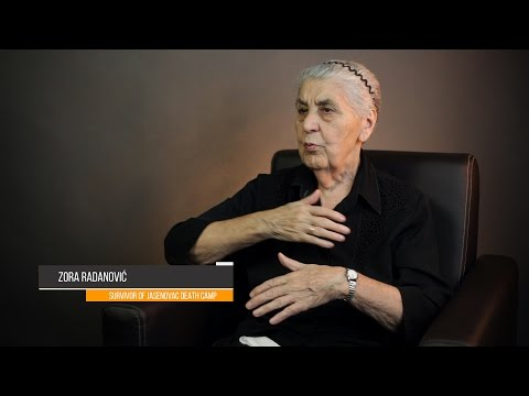 Preview from the interview - Jasenovac death camp survivor