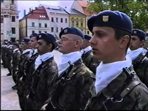 Vojenská přísaha Jihlava 11. 5. 2001