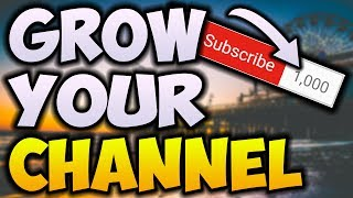 How To Get Your First 1000 Subscribers In 1 Week! (4000 Watch Hours Guide 2018!)