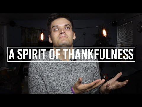 A Spirit of Thankfulness | Jon Jorgenson