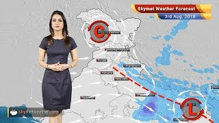 Weather Forecast for August 3: Monsoon rain in Lucknow, Patna, Kolkata; dry weather in Delhi