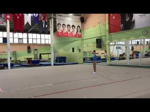 16.01.2020 Ankara Okullar Arası Aerobik Cimnastik Yarrşması ECE DOĞAN