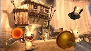 Rayman Raving Rabbids 2 | All Shootings Full Movie Game Wii | ZigZAg Kids HD