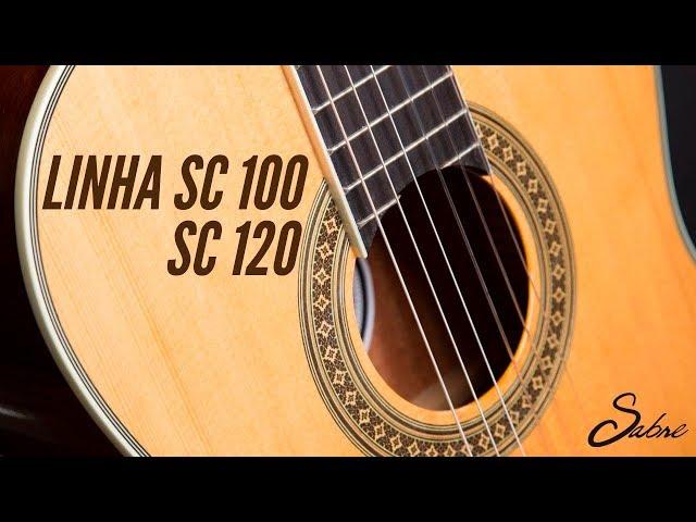 [IZZO ACADEMY] Linhas de violões Sabre SC 100 e SC 120