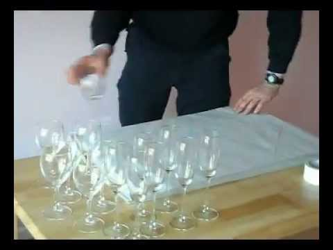 How to pack Stemware