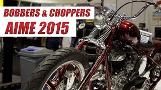 Coolest Bobbers, Choppers and Custom Motorcycles of AIMExpo 2015