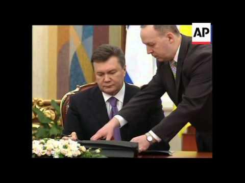 4:3 Israeli President Peres meets Yanukovich
