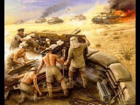 Anzacs vs German Africa Corp   Men of War AS2 Robz Realism mod