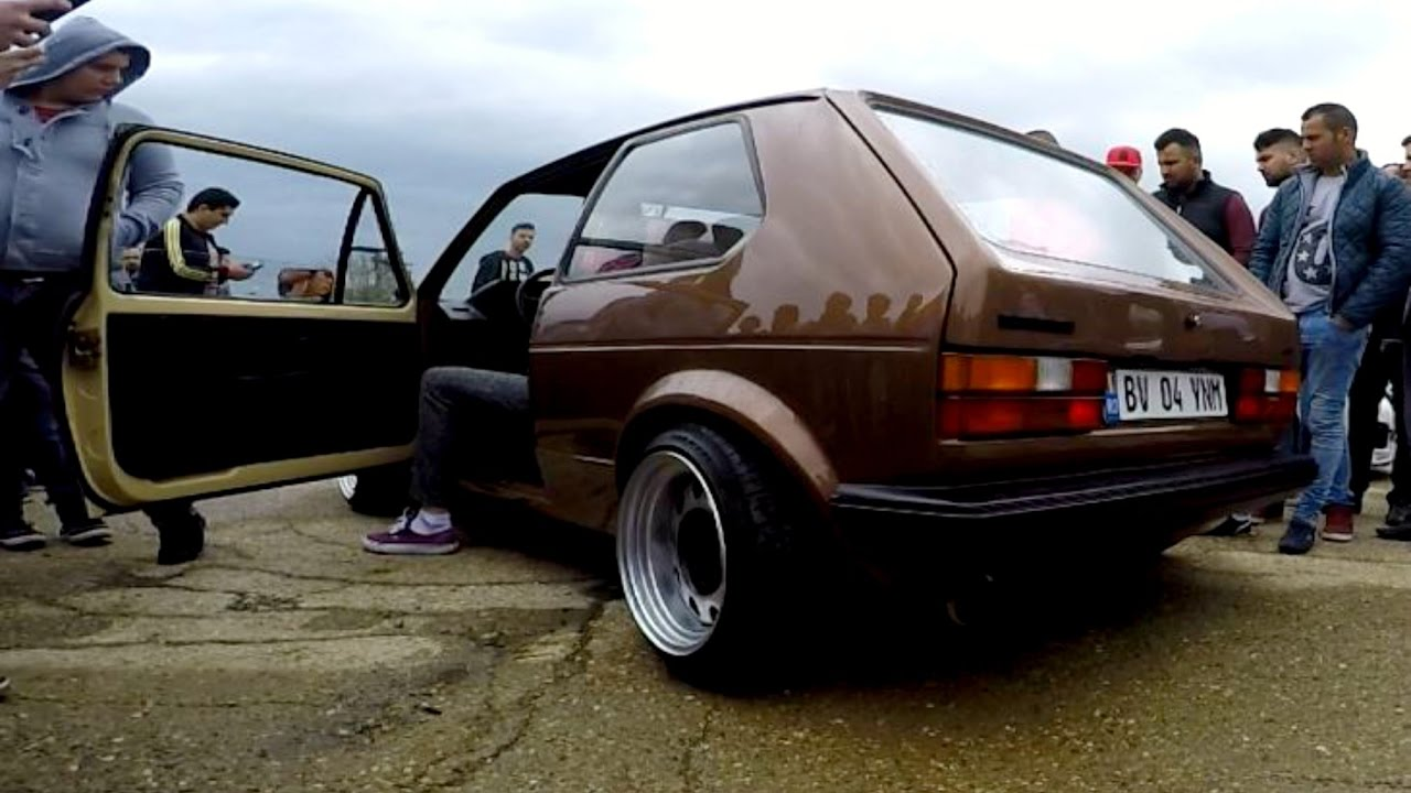 vw golf 1 rev limiter tuning show 2016 loud sound by dore duzz youtube. Black Bedroom Furniture Sets. Home Design Ideas