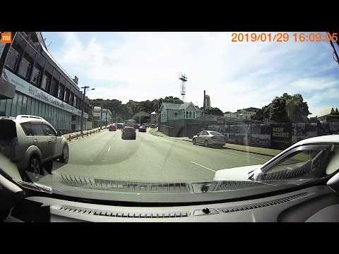 Car Accident - Basin Reserve, Wellington
