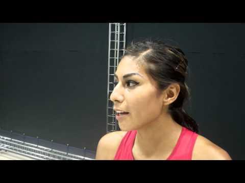 Brenda Martinez After Making 800m Final