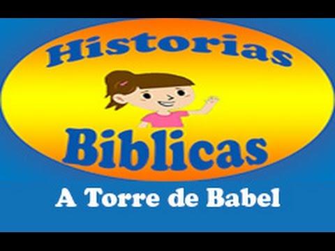 Desenhos Biblicos 04 A Torre De Babel Youtube