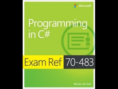 Exam 70-483: Programming with C# - Objective 2.7 Manipulate strings