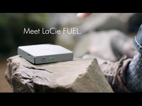 Meet LaCie FUEL