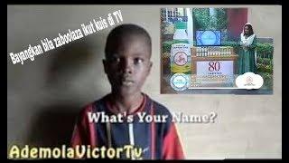 Hardest name in the world parody. Bayangkan bila zabolaza ikut kuis di TV