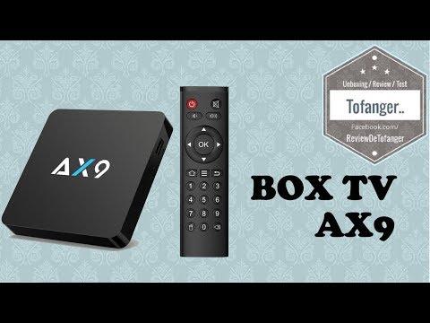TV BOX AX9 Android TV