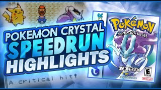 Pokemon Crystal Speedrun Highlights! (Current Personal Best)