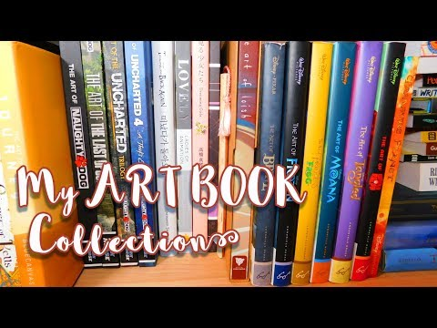 My ART BOOK Collection - Animation, Video Game, Illustration Books & More!  - MissKerrieJ -