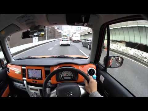 スズキ ハスラー首都高 C1試乗 | Suzuki Hustler Tokyo Expressway POV Drive