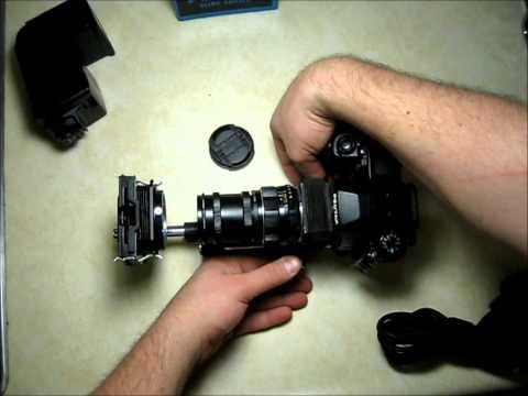 Scanning (Digitizing) 35mm Slides or Film with your DSLR