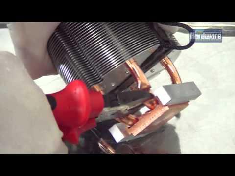 Heatpipe-Kühler aufsägen | PCGH in Gefahr