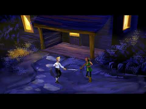 How To Defeat the Sword Master / The Secret of Monkey Island Special Edition  