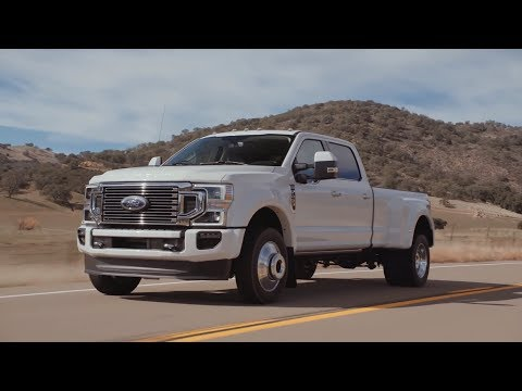 2020 Ford Super Duty F-450 Limited | Official footage