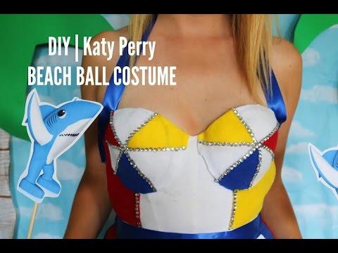 DIY| Katy Perry (Super Bowl) Beach Ball Costume
