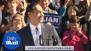 Julian Castro announces his candidacy for presidency in 2020 bid