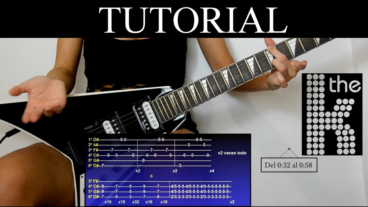 Cómo tocar Mr Brightside de The Killers (Tutorial de guitarra) / How to play