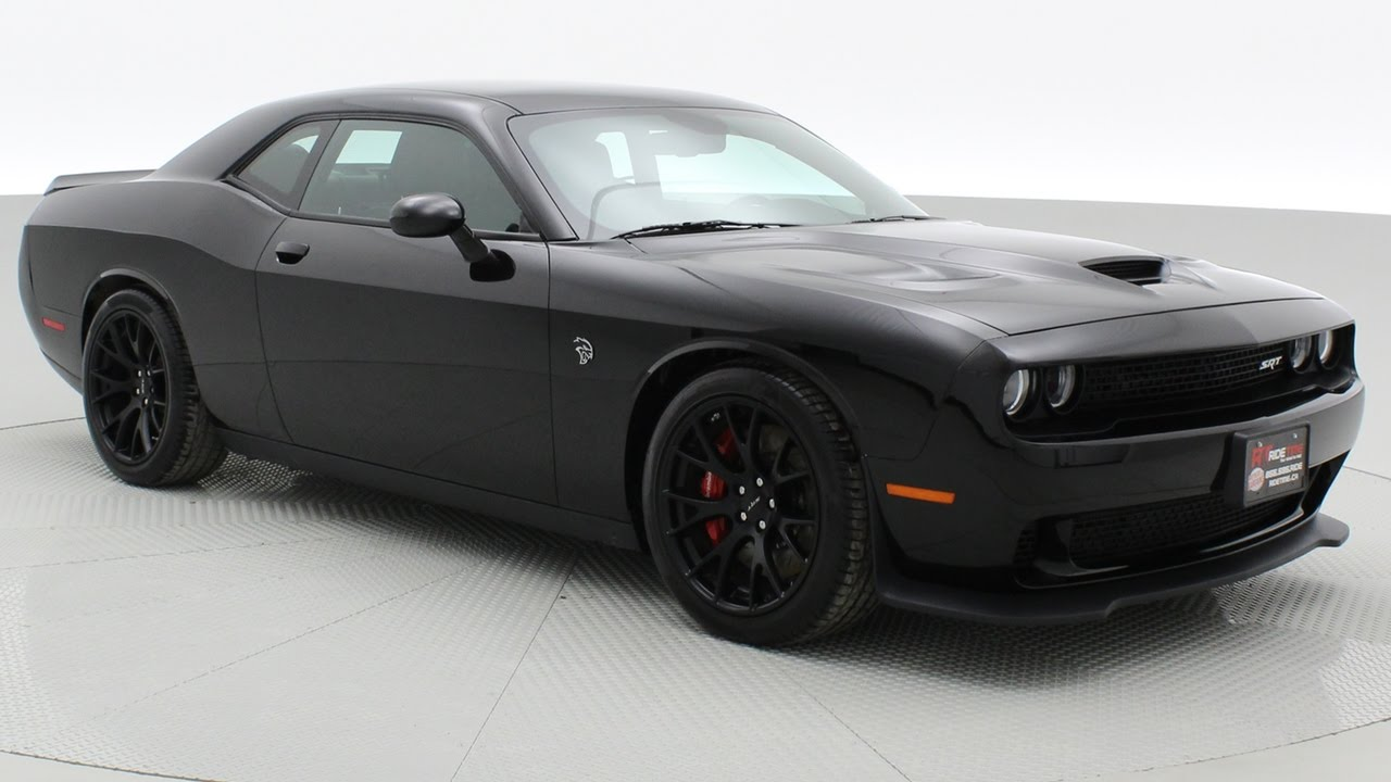 2016 Dodge Challenger Srt Hellcat W Manual Transmission 707 Hp Ridetime Ca