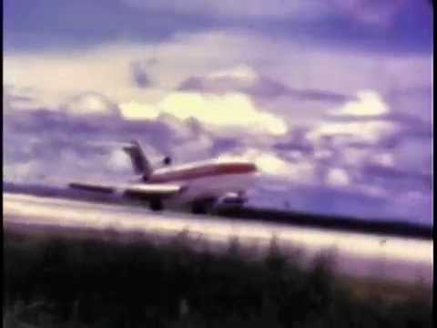 Takeoff and landings in 727 aircraft on Yap and Palau - 1969