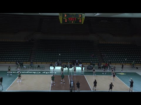 New Mexico Junior College Thunderbirds @ Midland College Lady Chaps Volleyball (October 12, 2019)