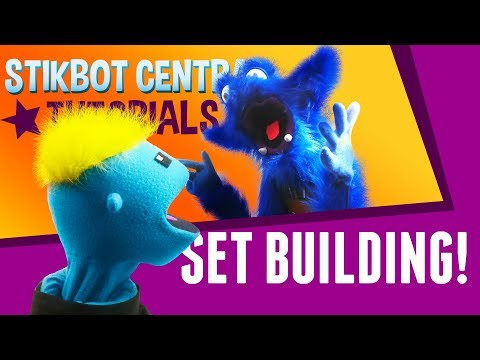 Stikbot Tutorials 📚 | Props and Sets with a Special Guest!