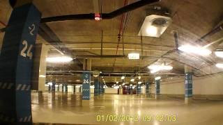 aupark Kosice podzemne parkovisko