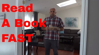 How To Read A Book FAST-4 Easy Speed Reading Strategies