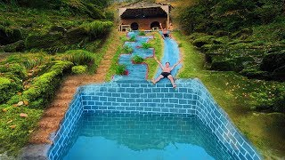 Build The Most Amazing Swimming Pools Underground With Ancient Skills