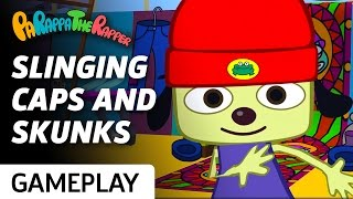 PaRappa The Rapper Remastered - Making Money With Prince Fleaswallow Gameplay