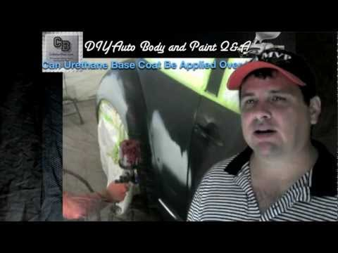 Can Urethane Base Coat Be Applied Over Lacquer?  DIY Auto Body and Paint Q&A