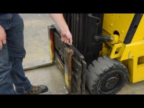Caterpillar T50D Cushion Tire 5,000 LB Forklift - YouTube