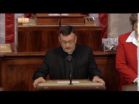 Fr. Steve Thomlison Offers Opening Prayer in U.S. House