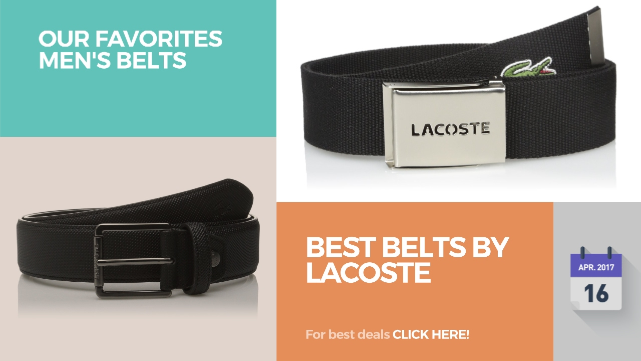 e2ed7faf64a800 Best Belts By Lacoste Our Favorites Men s Belts - YouTube