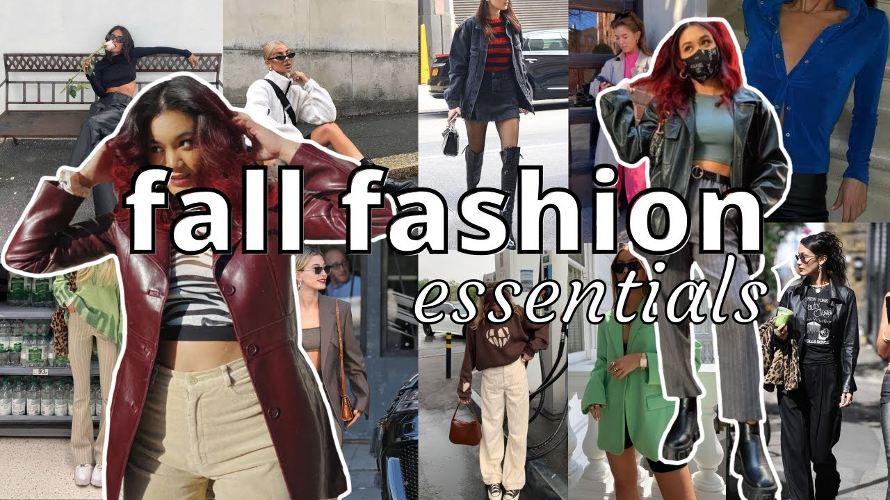 fall fashion essentials 2021 | my staple pieces for the fall season