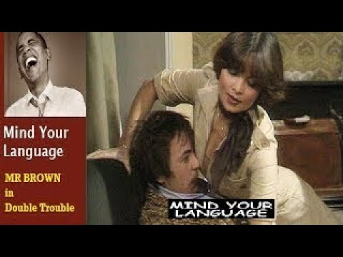 Mind Your Language Barry Evans (Mr Brown) In Double Trouble