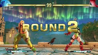 STREET FIGHTER V Nash vs Cammy